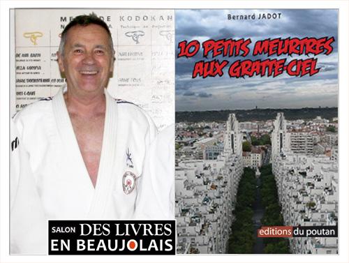 Bernard Jadot invité du 3e salon Des Livres en Beaujolais