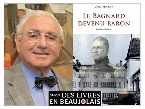 Daniel Tremblay invité du 3e salon Des Livres en Beaujolais