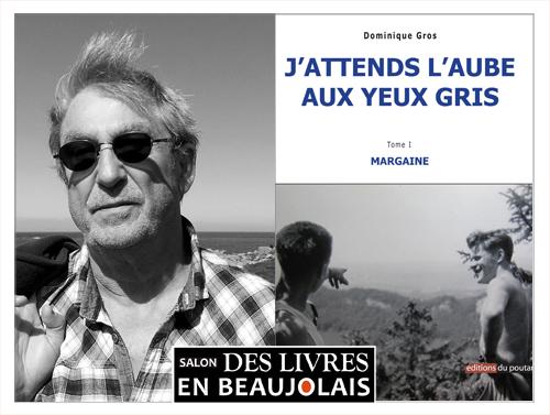 Dominique Gros invité au 3e au salon Des Livres en Beaujolais