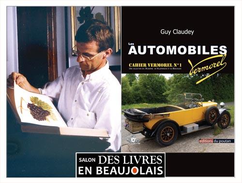 Guy Claudey invité du 3e salon Des Livres en Beaujolais