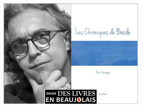 Henri Granger invité au 3e au salon Des Livres en Beaujolais