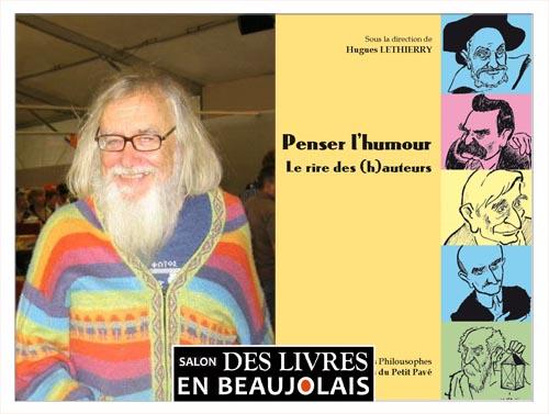 Hugues Lethierry invité du 3e salon Des Livres en Beaujolais