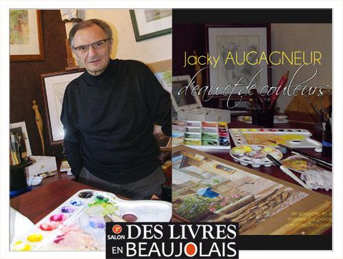 Jacky Augagneur invité du 3e salon Des Livres en Beaujolais