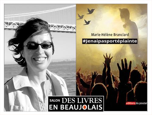 Marie-Hélène Branciard invitée du 3e salon Des Livres en Beaujolais