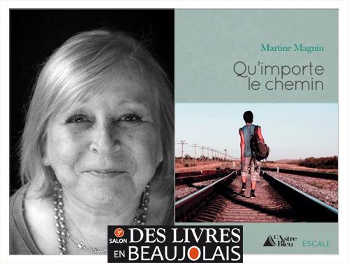 Martine Magnin invitée du 3e salon Des Livres en Beaujolais