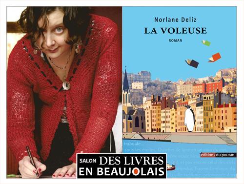 Norlane Deliz invitée du 3e salon Des Livres en Beaujolais