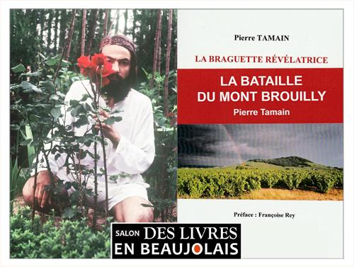 Pierre Tamain invité du 3e salon Des Livres en Beaujolais