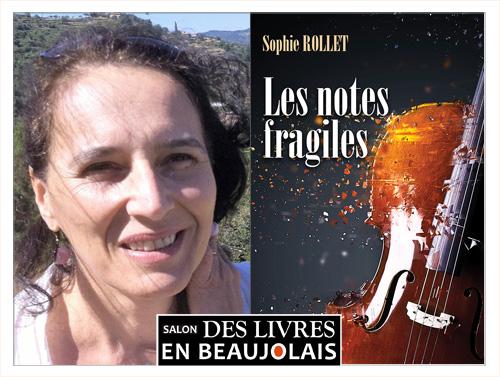 Sophie Rollet invitée du 3e salon Des Livres en Beaujolais