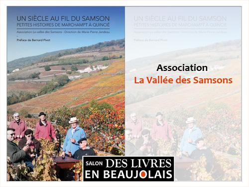 La Vallée des Samsons - 3e salon Des Livres en Beaujolais