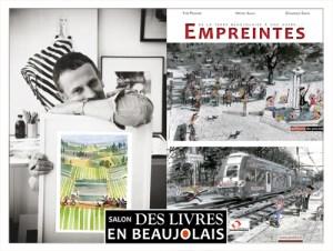 Dominique Simon  invité du 3e salon Des Livres en Beaujolais