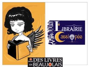 Carole Crémois - La librairie cassiopée - 3e salon Des Livres en Beaujolais