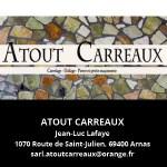 Atout Carreaux Partenaire du salon Des Livres en Beaujolais