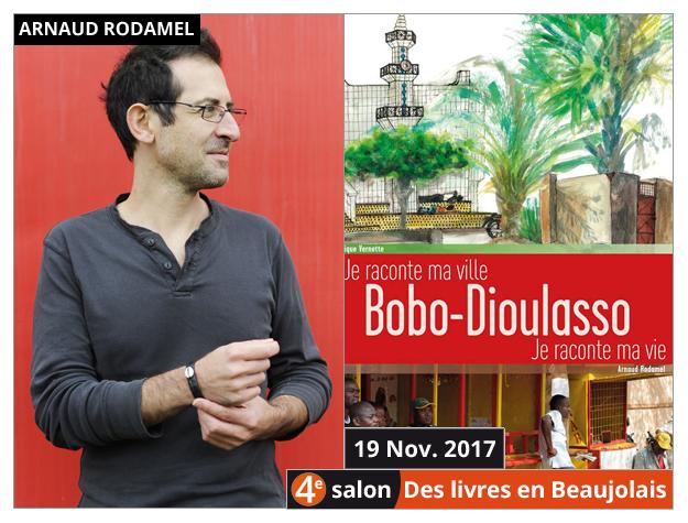 Arnaud Rodamel invité du 4e salon Des Livres en Beaujolais