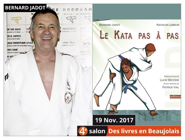 Bernard Jadot invité du 4e salon Des Livres en Beaujolais