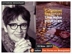 Catherine Bessonart invitée du 4e salon Des Livres en Beaujolais