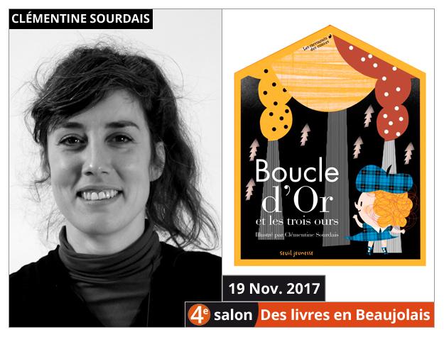 Clémentine Sourdais invitée du 4e salon Des Livres en Beaujolais