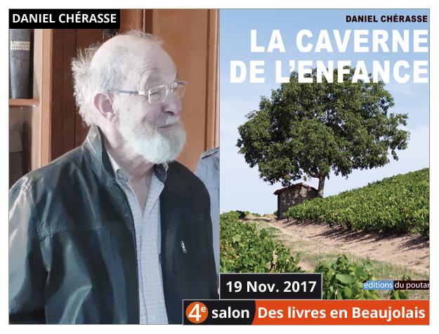 Daniel Chérasse invité du 4e salon Des Livres en Beaujolais