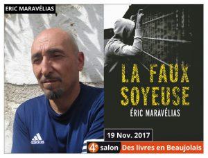 Éric Maravelias invité d'honneur du 4e salon Des Livres en Beaujolais
