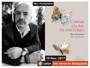 Éric Poindron invité d'honneur du 4e salon Des Livres en Beaujolais