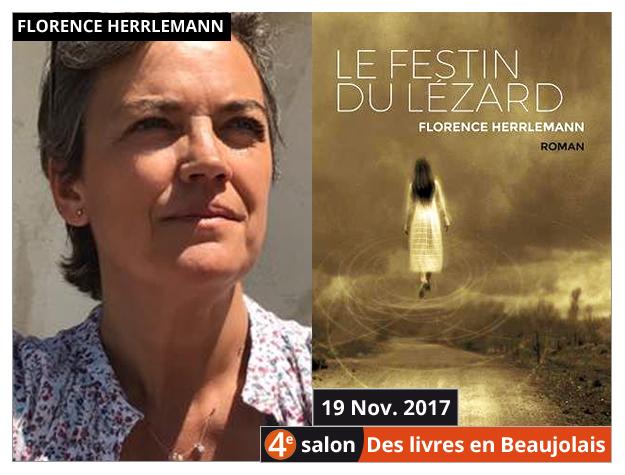 Florence Herrlemann invitée du 4e salon Des Livres en Beaujolais
