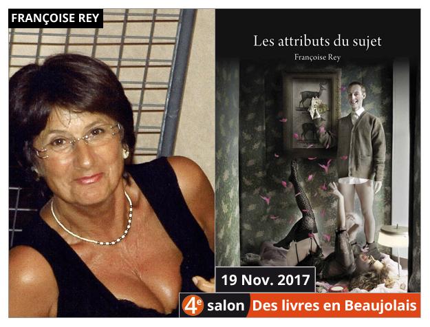 Françoise Rey invitée du 4e salon Des Livres en Beaujolais