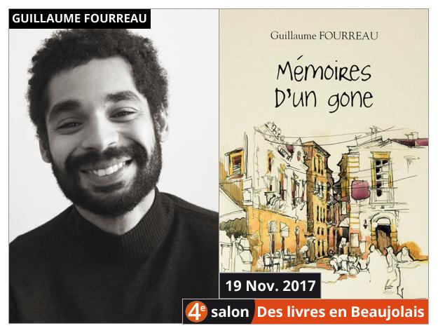 Guillaume Fourreau invité du 4e salon Des Livres en Beaujolais