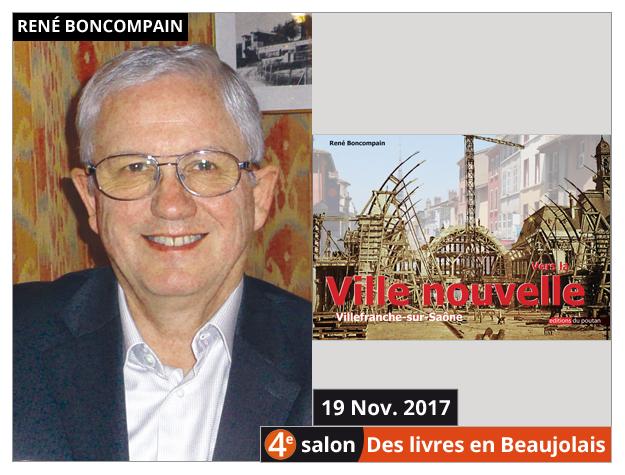 René Boncompain invité du 4e salon Des Livres en Beaujolais