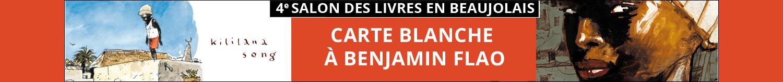 4e salon Des Livres en Beaujolais _ Carte Blanche à Benjamin Flao