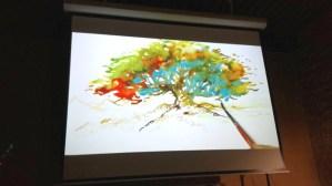 """Benjamin Flao aux pinceaux - """"L'homme qui plantait des arbres"""""""