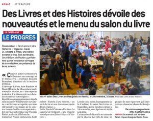 Le Progres_Menu_Salon_Des_Livres_beaujolais_171029