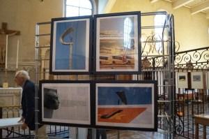 """""""Grand Portugal"""" exposition de Viviane Lièvre- Photo C.Vermorel"""