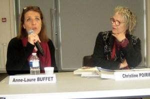 Anne laure buffet et Christine Poirier - Photo MH Branciard
