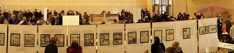 Zoom sur l'œuvre de Benjamin Flao EXPO 4e Salon Des Livres en Beaujolais Photo Catherine Vermorel