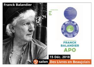 Balandier franck salon livres beaujolais 2018