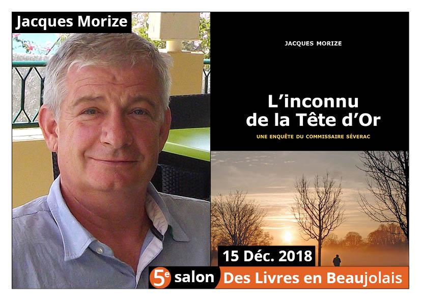 Jacques Morize invité d'honneur du 5e salon Des Livres en Beaujolais