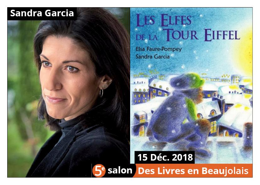 Sandra Garcia invitée d'honneur du 5e salon Des Livres en Beaujolais