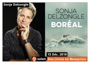 Sonja Delzongle invitée d'honneur du 5e salon Des Livres en Beaujolais