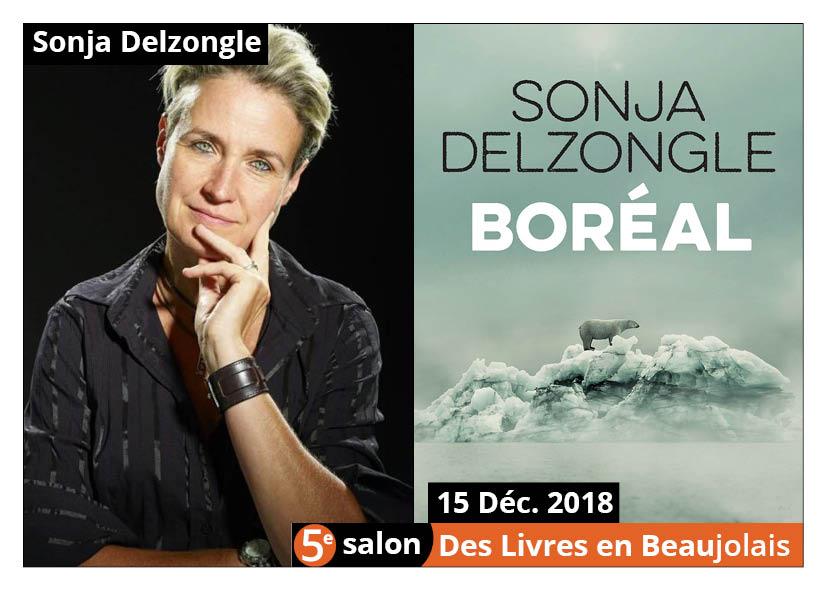 Sonja Delzongle - 5e Salon livres beaujolais 2018