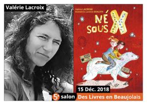 Valérie Lacroix invitée d'honneur du 5e salon Des Livres en Beaujolais