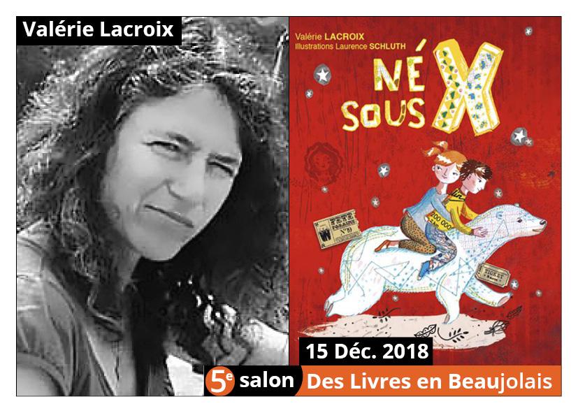 Valérie Lacroix - 5e Salon des Livres en Beaujolais 2018