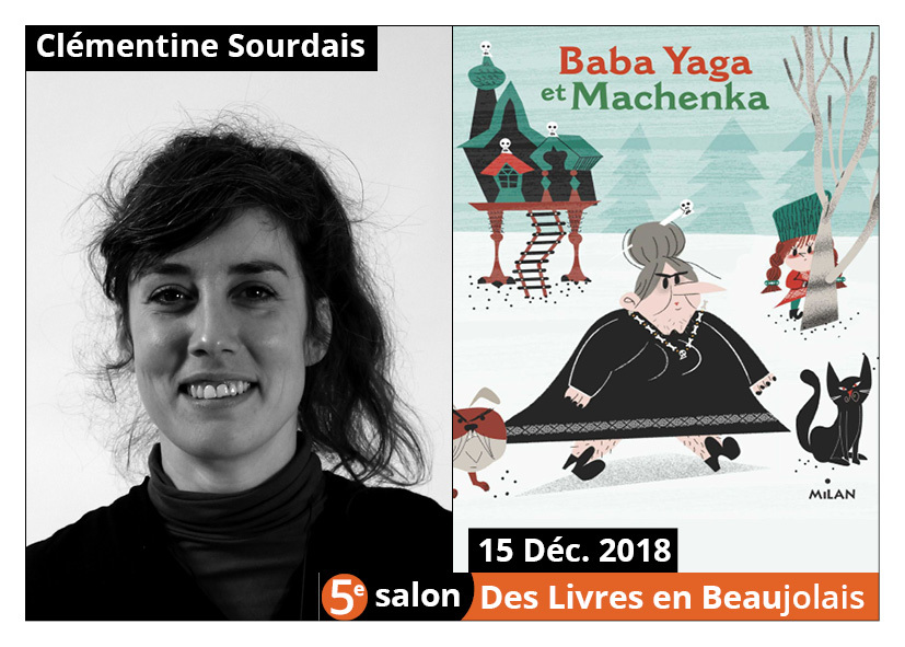 Clémentine Sourdais invitée d'honneur du 5e salon Des Livres en Beaujolais