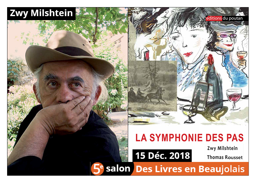 Zwy Milshtein invité d'honneur du 5e salon Des Livres en Beaujolais