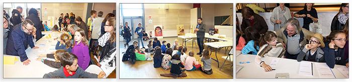 Enfants ecoles 5e salon des livres en beaujolais