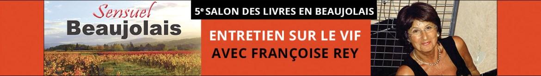 Francoise rey des livres en beaujolais 2018