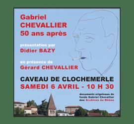 Gabriel chevallier clochemerle