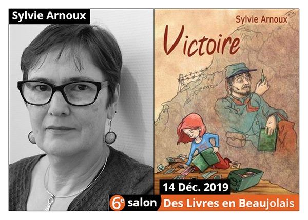 Sylvie arnoux - 6e Salon des Livres en Beaujolais 2019