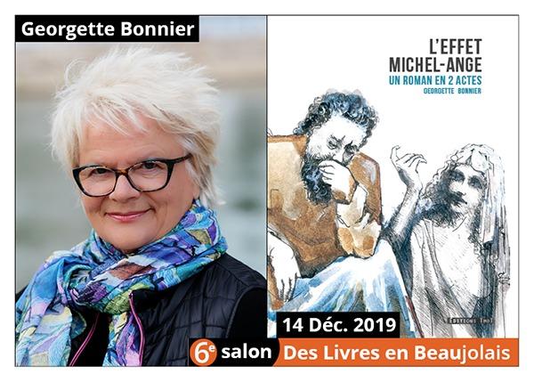 Georgette Bonnier - 6e Salon des Llivres en Beaujolais 2019