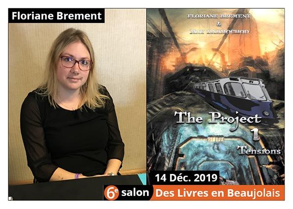 Floriane Brement - 6e Salon des Livres en Beaujolais 2019