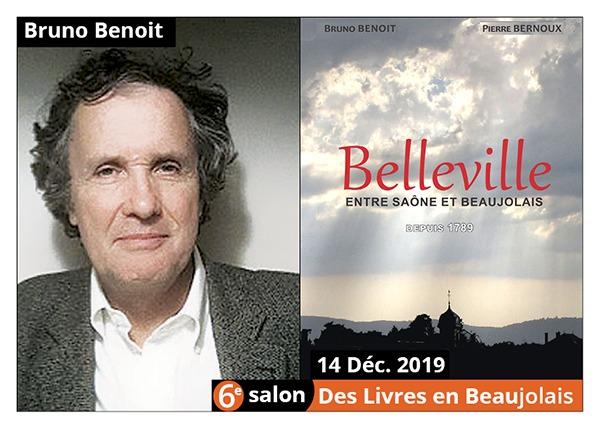 Bruno Benoit - 6e Salon des Llivres en Beaujolais 2019
