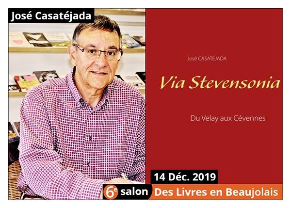 José Casatejada - 6e Salon des Livres en Beaujolais 2019